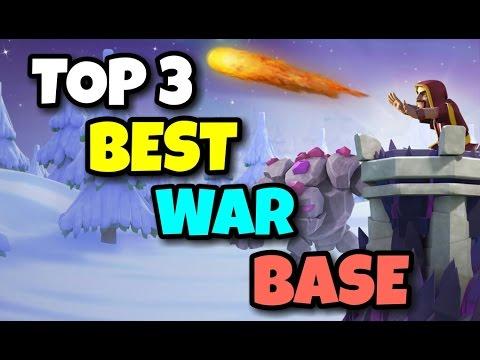 "New ""TOP 3 BEST"" TH9 ANTI 3 STARS WAR BASE   Anti All Combo   F.t BOMB TOWER   Clash Of Clans"