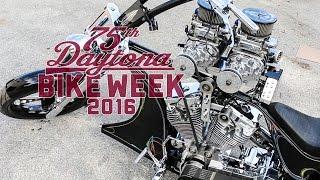 Daytona Bike Week 2016 | Twin Blower 121cu 300hp with NOS | Super Rat
