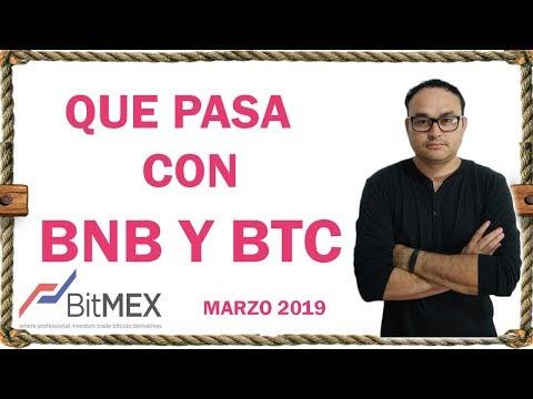 Análisis de BNB, XBT y ETHER, Bitcoin 2019 | BITCOIN V163