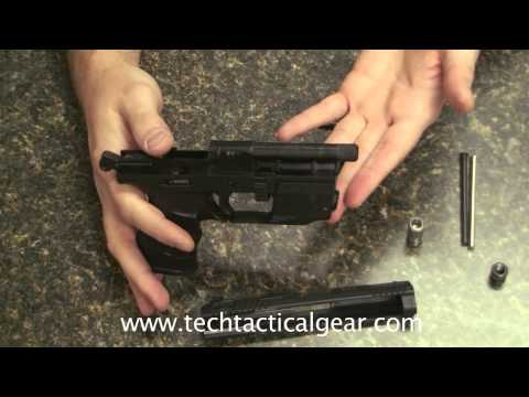Walther P22 Upgraded Barrel Tip and Spring Guide - Makes for Easier Cleaning