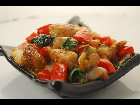 Chilli Basil Fish | Cooksmart | Sanjeev Kapoor Khazana