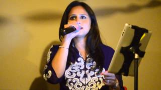 Jeena Jeena - Atif Aslam, Live Indian Band Bollywood Music Wedding Services USA Tina Kundalia
