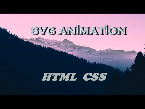SVG ANİMATİON | HTML5 + CSS3 | Web Tasarım |