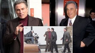 John Travolta Steps Out As John Gotti For Role In Upcoming Movie