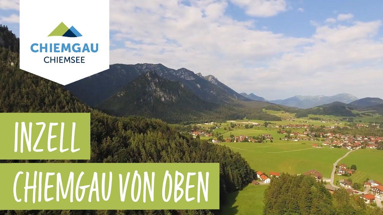 Inzell Chiemsee-Chiemgau Drohnenaufnahme