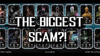 THE BIGGEST SCAM IΝ MK MOBILE   OLD MAXED ACCOUNTS   LOGIN GLITCH 2021   HACKED MAXED ACCOUNT