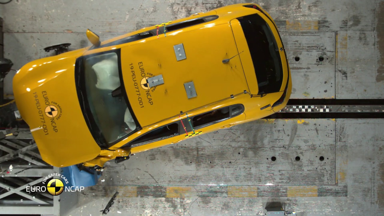 Euro NCAP Crash & Safety Tests of Peugeot 208 2019 - YouTube