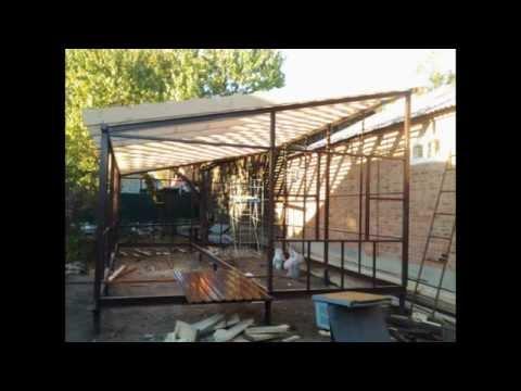 Как построить торговые быстровозводимые павильоны из сэндвич 19