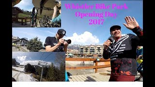 Whistler Bike Park Opening Day 2017,  with Brett Tippie, Aline and More