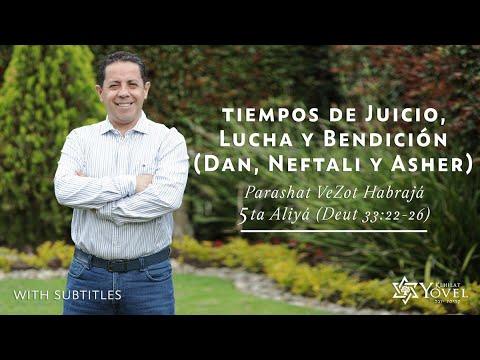 VeZot Habrajá - Tiempos de Juicio, Lucha y Bendición / Times of judment, struggle and blessing