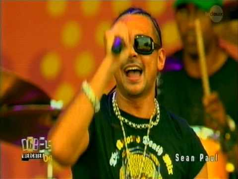 Sean Paul - live Werchter 2006