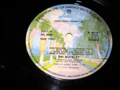 Tim Buckley Greetings from LA. (full album)