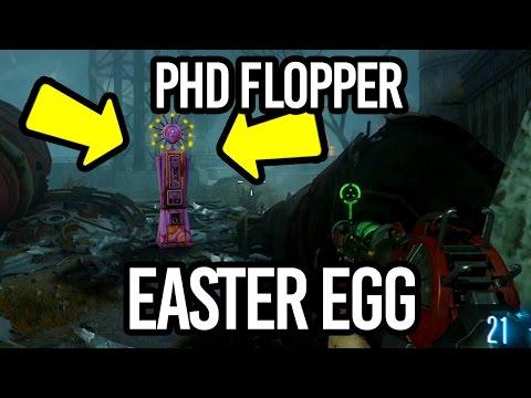 DLC 5: PHD FLOPPER EASTER EGG - I FOUND IT! I FOUND PHD FLOPPER! (HIDDEN PERK ZOMBIES CHRONICLES)