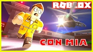 ROBLOX ? 👮 ♂️ JAIL BRAKE WITH MIA 😂 THE WORST LADRONES OF THE WORLD 😂
