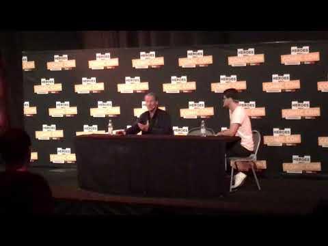Iain Glen / Jorah Mormont Q&A Comic Con Stockholm