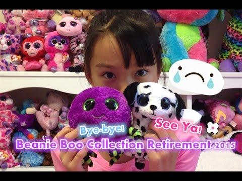 c4fc8be817e Beanie Boo Collection - beanie boos retirement 2015 - YouTube
