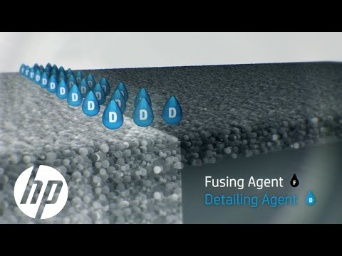 HP Multi Jet Fusion Technology: How Fusing and Detailing Agents Work
