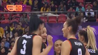 Minas x Eczacibaşi VitrA | 2018 Women's Club World Championship  | Semifinal 3set