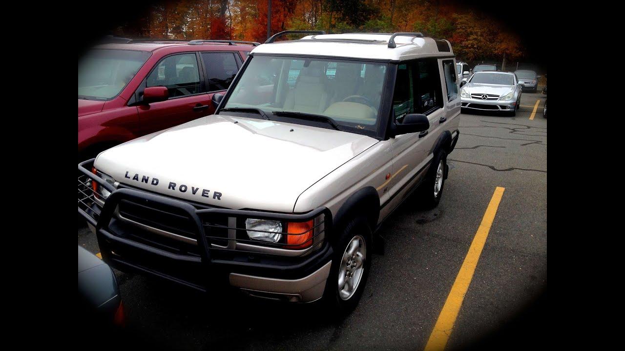 2001 Land Rover Discovery SE 4 0L V8 Start Up Quick Tour & Rev