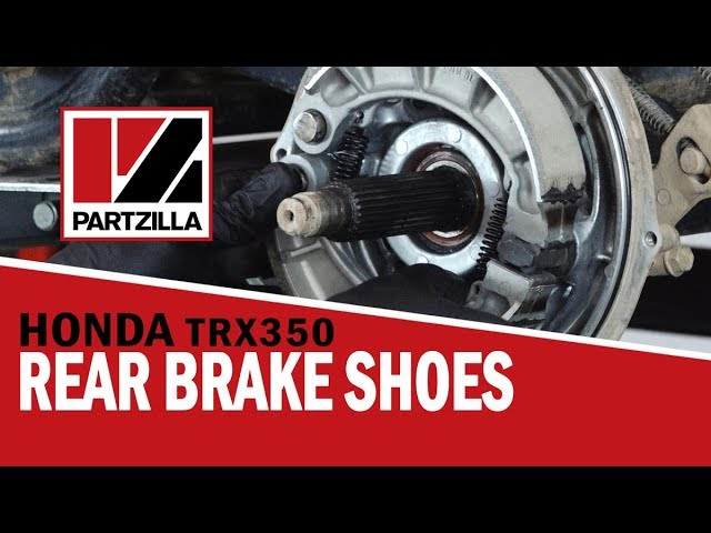 Front Brake Shoes For Honda TRX350 TE TM FE FM Rancher 350 ES 2000-2006