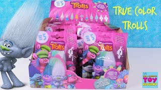 Trolls Series 5 True Colors Mystery Blind Bag Full Box Toy Review Opening | PSToyReviews
