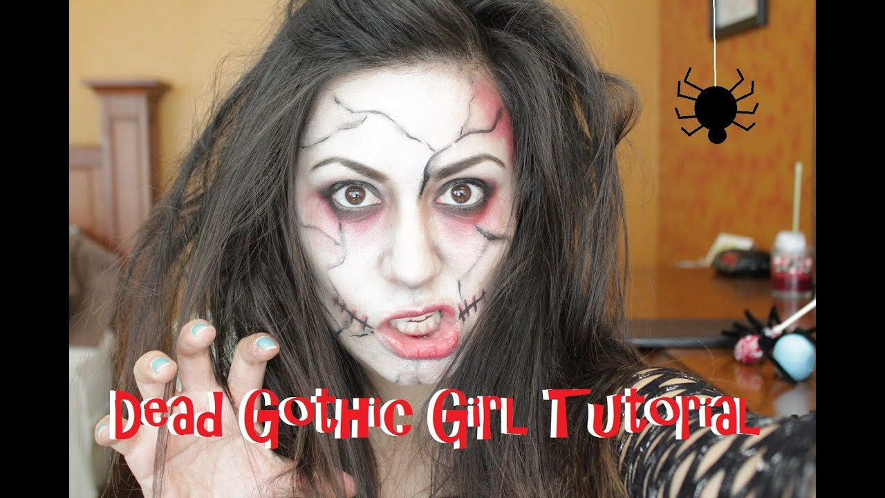 foto de Halloween Look: Raise Of The Dead Girl Makeup Tutorial YouTube