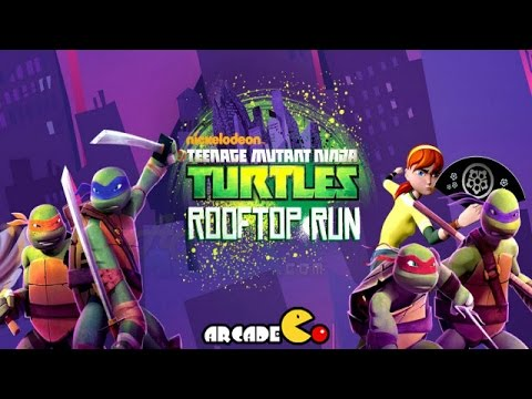 Teenage Mutant Ninja Turtles: Rooftop Run Michelangelo Running