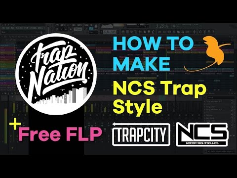 FL Studio | How To Ncs Trap Style & Trap Nation Style In 3 Min + Projet FLP