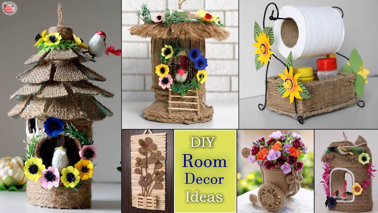 13 Diy Room Decor Living Room Ideas Decor Empty Space Refresh Your Home Youtube