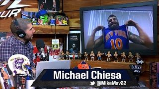 Michael Chiesa Calls Kevin Lee's Punch a 'Cheap Shot', Recounts Brawl