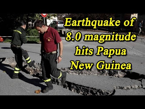 Papua New Guinea struck with 8.0 earthquake, Tsunami Warning sounded | Oneindia News