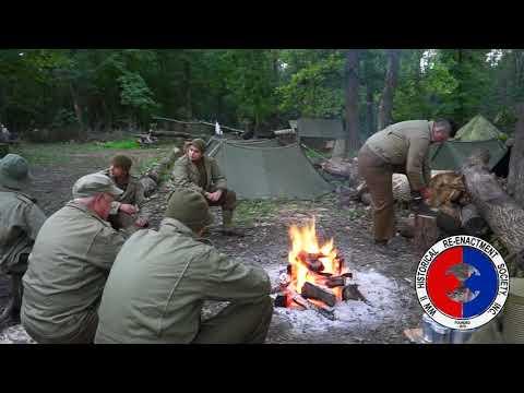 6:00 AM In A WW2 American Army Camp