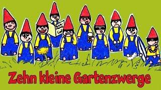 Kinderlieder Sternschnuppe - Zehn kleine Gartenzwerge