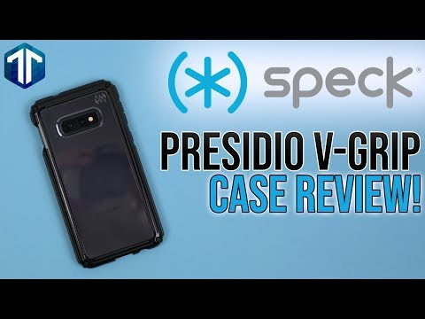 Samsung Galaxy S10e Speck Presidio V-Grip Case Review!