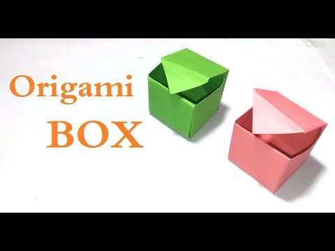 Easy and quick origami box (with lid) | Bubanana | 360x480
