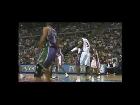 2004 NBA Playoffs: Detroit Pistons vs Milwaukee Bucks