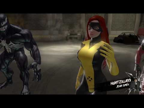 Marvel: Ultimate Alliance 2 - All Characters Interact With Senator Lieber(Stan Lee)