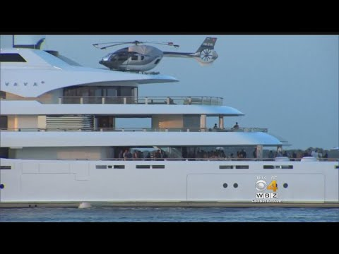 Super Yacht Turns Heads In Boston Harbor