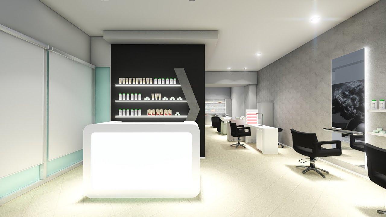 Arredamento parrucchieri akorj presentazione progetto for Arredamento per parrucchieri