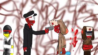 Countryhumans Nazi X Ussr The Kinfe In My Back