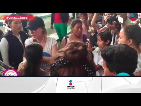 ¡Belinda continúa labores de ayuda a damnificados! | Sale el Sol