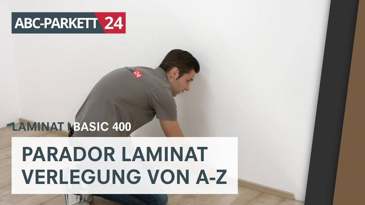 GroB PARADOR Laminat Basic 400 Richtig Verlegen