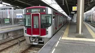 西鉄 9000形 上り急行 福岡(天神)行 西鉄久留米駅発車風景 2017年5月6日