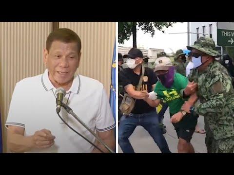 Philippines President Threatens To 'shoot Dead' Coronavirus Lockdown Troublemakers