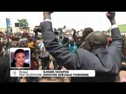 Centrafrique: Bain de foule pour Michel Djotodia