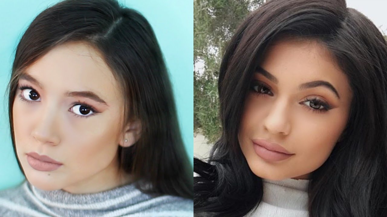 kylie jenner makeup tutorial | for teens | fiona frills | fiona's