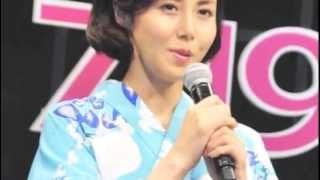 ジブリ映画「思い出のマーニー」でアンナの養母役をやった松嶋菜々子さ...