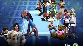 Sims  - создание персонажа!