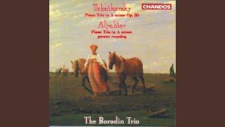 Piano Trio in A Minor, Op. 50: II. Tema con variazioni: Andante con moto