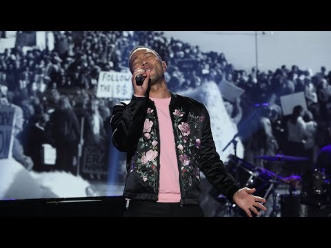 John Legend Performs His Song 'Preach'